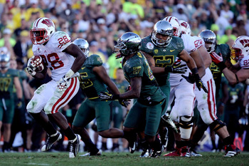 LaMichael James and the Oregon Ducks took down Montee Ball's Wisconsin Badgers in last year's Rose Bowl