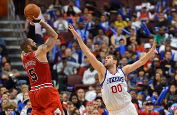 Carlos Boozer leads a group of versatile fantasy players for the Chicago Bulls.