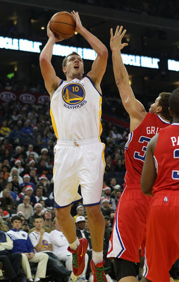 David Lee has become a fundamental part of the Warriors' inside, and will continue to produce double-double like numbers in the coming season.