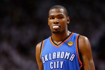 Kevin Durant could quite possibly the best pure scorer in the NBA, making him a top-3 fantasy choice come draft day.