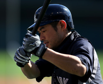 Ichiro Suzuki found his batting eye in the Bronx.