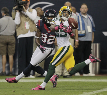 Casey Hayward picks off Matt Schaub on Sunday Night Football