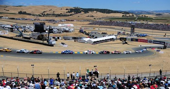 There's no place with a view like Sonoma Raceway.