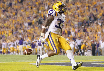 LSU RB Jeremy Hill