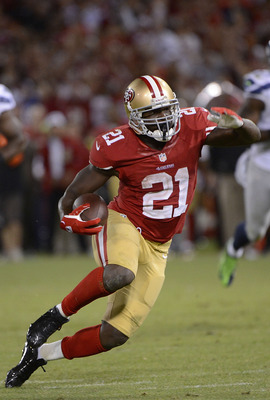 Frank Gore had a great game against the Seahawks.