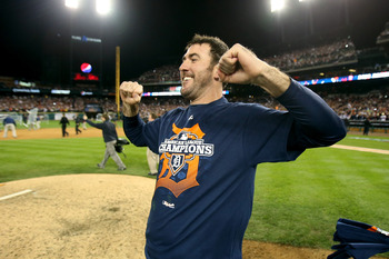 Tigers starter Justin Verlander is 3-0 in the postseason.