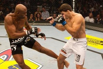 Anderson Silva had Demian Maia running scared for three rounds in their UFC 112 bout.