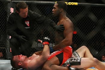 Jones was wrongly given a loss in his TUF10 Finale fight. Photo c/o CagePotato.com.