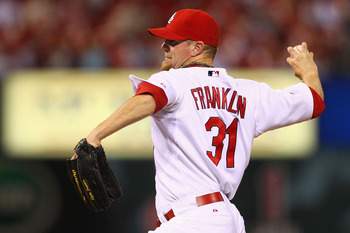 Former St. Louis Cardinals pitcher Ryan Franklin