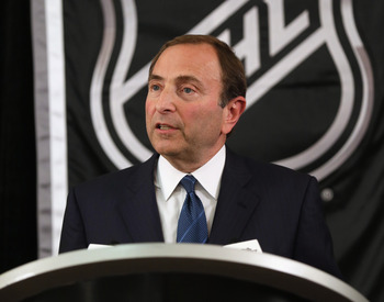 Would Commissioner Gary Bettman dare cancel an entire season again?