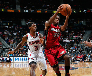 Norris Cole was impressive in his rookie season, but his second year may be more of a struggle.