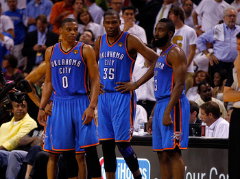 Can the Thunder keep Westbrook, Durant and Harden together?