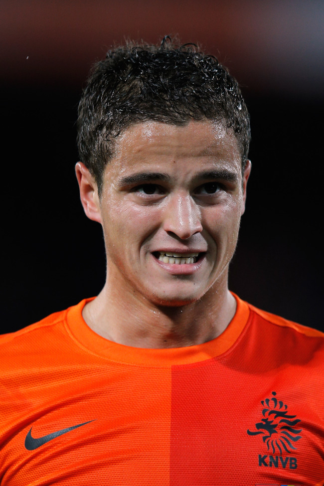 ROTTERDAM, NETHERLANDS - OCTOBER 12:  Ibrahim Afellay of Netherlands in action during the FIFA 2014 World Cup Qualifier between Netherlands and Andorra on October 12, 2012 in Rotterdam, Netherlands.  (Photo by Dean Mouhtaropoulos/Getty Images)