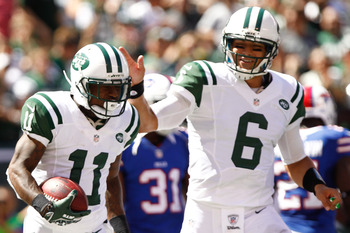 With Santonio Holmes out for the year, Jeremy Kerley is one of the best options Mark Sanchez has left.