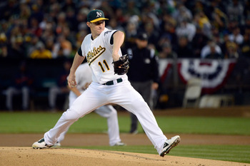 Jarrod Parker was a bright spot in the improbable run by the Oakland A's.