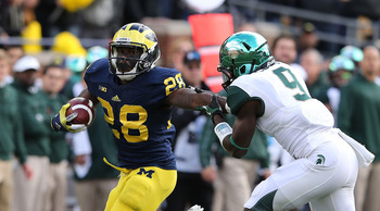 Michigan can run away with the Legends Division if it continues its current pace.