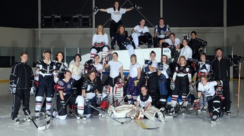 Photo from Brampton CWHL facebook page