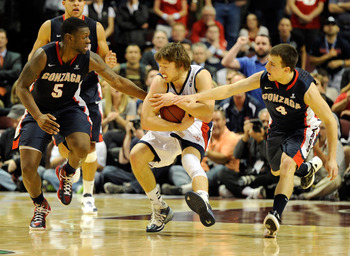 Kevin Pangos and Gary Bell will look to build on their great freshmen seasons