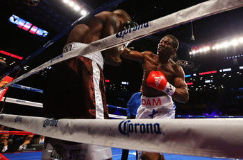 N'Dam outboxed Quillin for much of the fight.