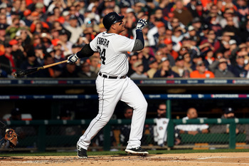 Triple Crown player Miguel Cabrera anchors an imposing heart of the order for the Tigers