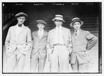 Maurice McLoughlin, Little Bill Johnston, Thomas Clark Bundy Photo at LOC, Bain News Service