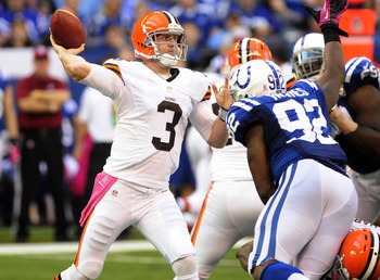 Brandon Weeden threw for another 2 TDs