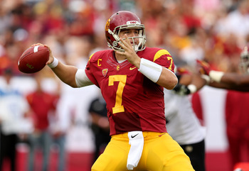 USC quarterback Matt Barkley