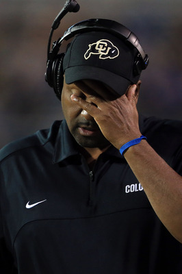 It's hard not to feel for Colorado head coach John Embree.