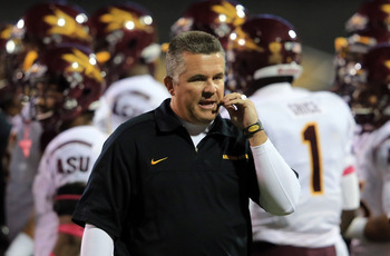 Arizona State head coach Todd Graham has the Devils off to an impressive start.