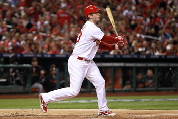 Freese is one of many that has Game 7 experience for the Cards.