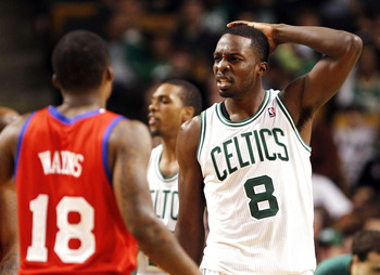 Jeff Green wonders why the Celtics never retired #8 in honor of Antoine Walker.
