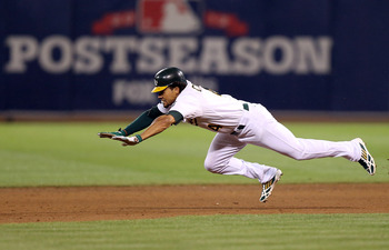 Coco Crisp had a large role in helping the A's win a division title. Teams will show interest in the speedy veteran.