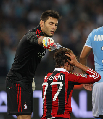 Early bath for AC Milan