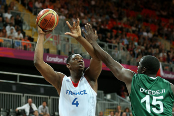 Kevin Seraphin shined in the 2012 Olympics.