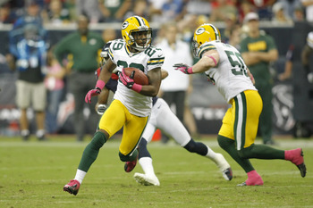 Casey Hayward is tied for NFL lead in interceptions with four.