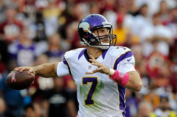 Ponder's at home against the lowly Bucs pass defense.