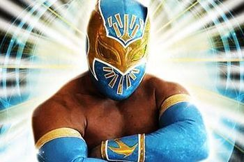 Sin Cara is seen as the heir apparent to Rey Mysterio in WWE. Currently, he and Mysterio are a tag team. (B/R photo)