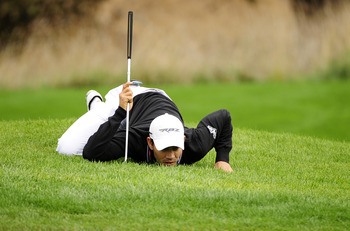 Hit your short irons close enough and you won't have to get this kind of look at putts.