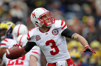 Nebraska Quarterback Taylor Martinez (3)