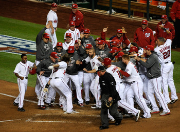 Werth's walkoff in Game 4 of the NLDS.