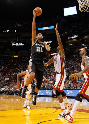 The Heat are trying to emulate the success of the Duncan-led Spurs dynasty.