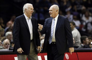 Popovich and George Karl are two of the winningest coaches in NBA history.