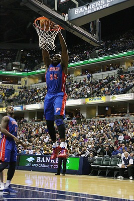 Sure, Jason Maxiell can elevate.  But a few more inches and he'd dominate.
