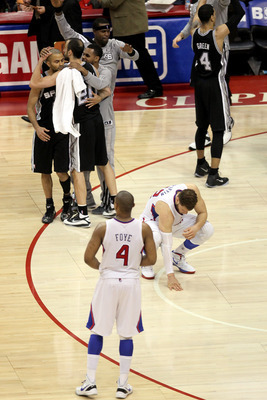 The Spurs defeated the Clippers in four straight games in the playoffs.