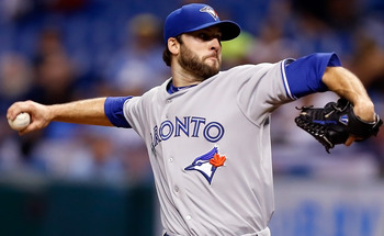 With multiple arms undergoing Tommy John surgery in 2012, Brandon Morrow is among the only quality arms available in Toronto for 2013.