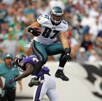 Celek Hurdles Over Baltimore To a Philadelphia Win