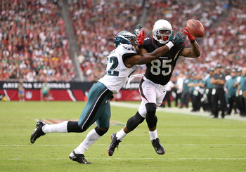 Boykin Competes against Arizona Cardinals