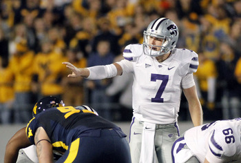 Collin Klein was superb in the Wildcats' demolition of West Virginia last week.
