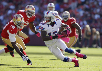 Stevie Johnson's production has picked up as the season has wore on.