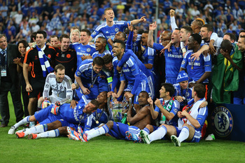 Chelsea won the cup last year despite some bad results.